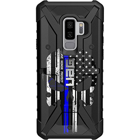LIMITED EDITION - Customized Designs by Ego Tactical over a UAG- Urban Armor Gear Case for Samsung Galaxy S9 PLUS (Larger 6.2