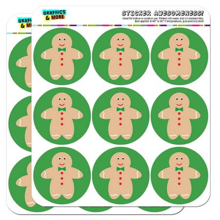Cute Gingerbread Man Cookie Christmas 2