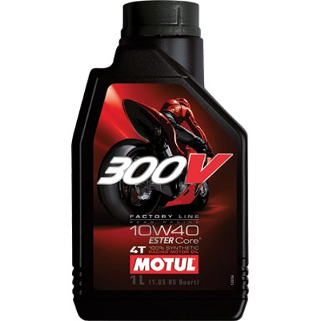 Motul Factory Line 300 V/4T Competition Synthetic Oil   10W40 - 1L. 101348 / 104118