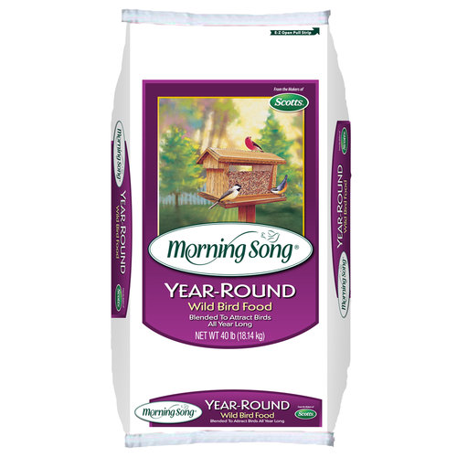 Morning Song Year-Round Wild Bird Food, 40lb