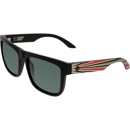 Spy Optic Sunglasses Discord Happy Grey Green/Black Lens