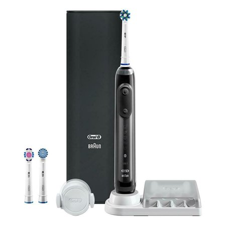 Oral-b Genius 8000 ($20 Coupon Eligible) Electric Rechargeable Toothbrush, Powered by Braun, Black