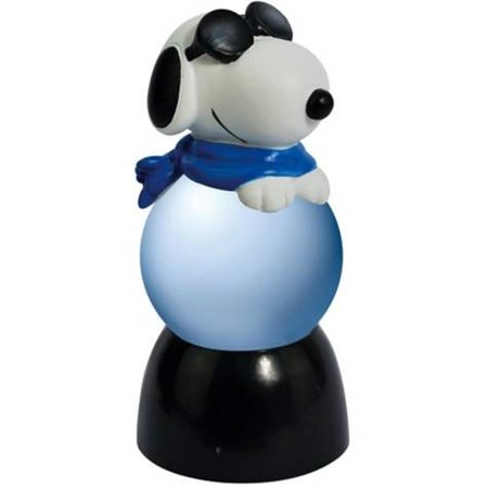 SS--20785 35Mm Black & White Snoopy Joe Cool with Blue Scarf Sparkler, Perfect gift for those that love Peanuts By WL](Joe Cool Snoopy Halloween)