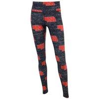 Nebraska Cornhuskers Concepts Sport Women's Phenom Allover Sublimated Leggings - Charcoal