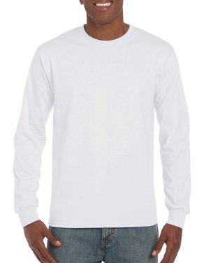 Gildan Mens Ultra Cotton Classic Long Sleeve T-Shirt