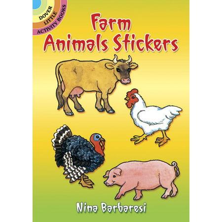 Dover Little Activity Books: Farm Animals Stickers (Farm Animals Stickers)