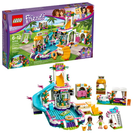LEGO Friends Heartlake Summer Pool 41313 (589 Pieces) - Lego Shaped Candy