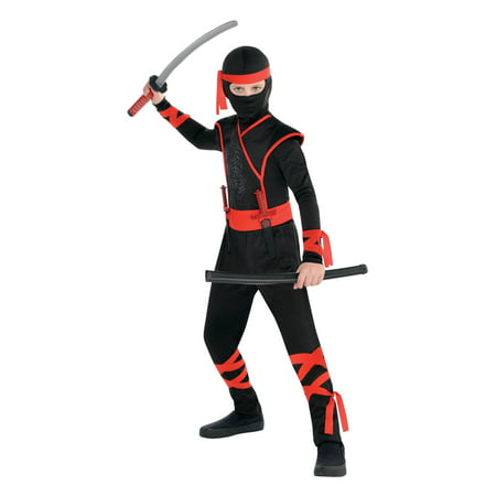 Shadow Ninja Fighter Boy Costume