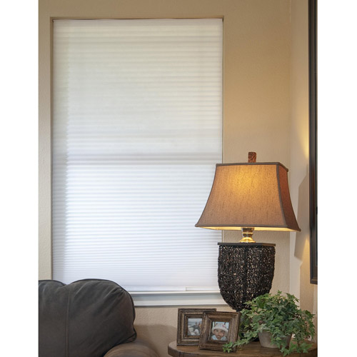 No-Tools, Easy-Lift, Trim-At-Home, Cellular, Light-Filtering Shade, White