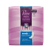 Poise Reg Moderate Pad 20 Size 20ct Poise Regular Moderate Pads 20ct