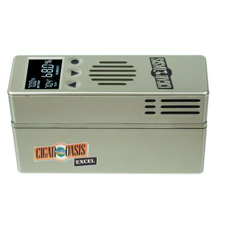 Cigar Oasis Excel 3.0 Electronic Cigar Humidifier (300 Cigar Capacity)