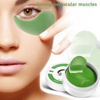 SUPERHOMUSE Moisturizing Seaweed Gel Eye Mask Hydrating Anti-puffiness Dark Circles Eye Patch Eyes Care