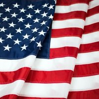 American Flag 2x3Ft US Flag- Heavy-Use Nylon w/ Embroidered Stars & Sewn Stripes - Deluxe Fast-Dry, All-Weather USA Flag For Outdoors & Indoors
