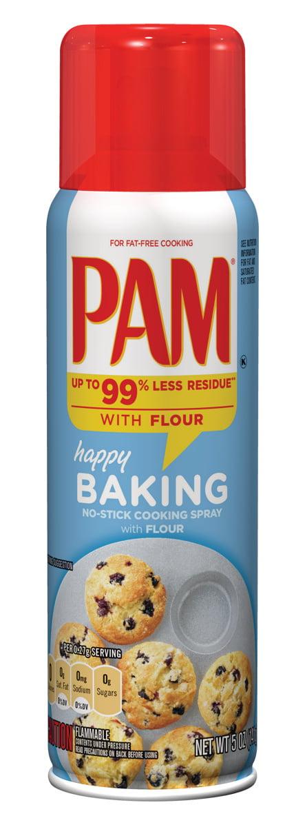 Pam Baking Cooking Spray, 5 oz