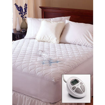 Twin Waterproof Heated Mattress Pad Walmart Com