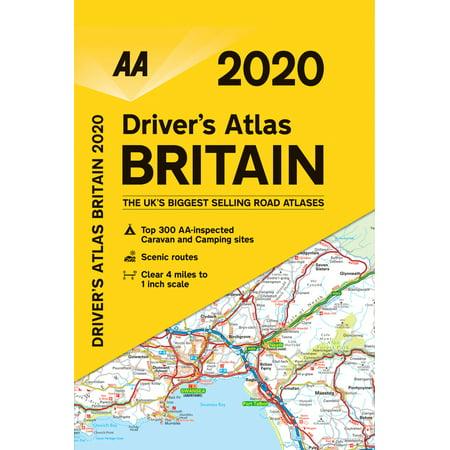 Big Road Atlas Britain 2020 ()