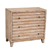 PRI 3 Drawer Chest in White Wash
