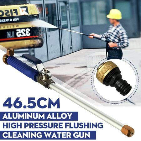 High Pressure Power Washer Water Spray Gun Wand Attachment w/ Nozzle Hose Garden