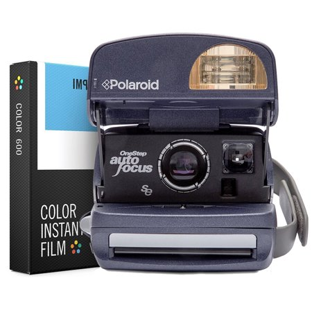 Polaroid camera and stop photo lab