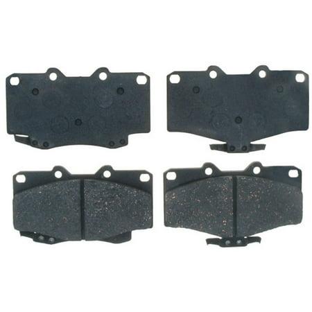 Ac Delco 17d436ac Brake Pad Set Ceramic Oe Replacement