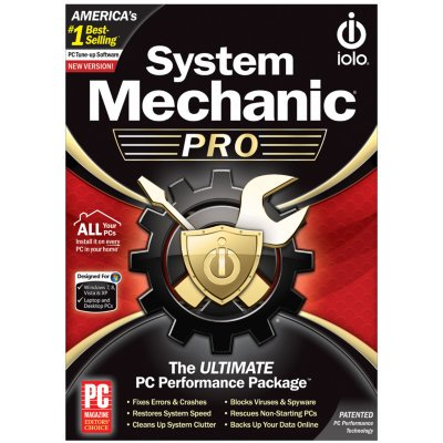 Design Pro Software - System Mechanic Pro System Utility Software