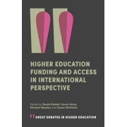 Higher Education Funding and Access in International Perspective - eBook