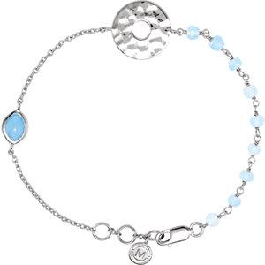 "Sterling Silver Blue Chalcedony 7.5"" Bracelet by"