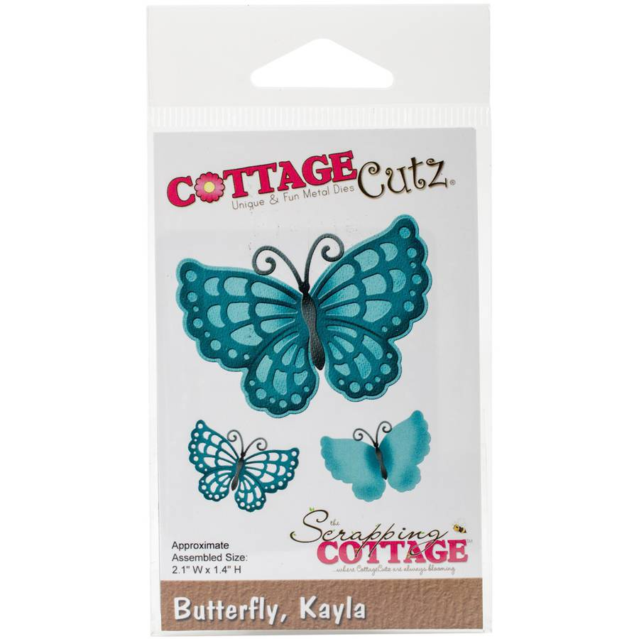 "CottageCutz Die-Kayla Butterfly, 2.1""X1.4"""