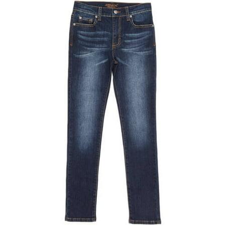 Jordache Boys' Skinny Dark Enzyme Stretch Denim Jeans