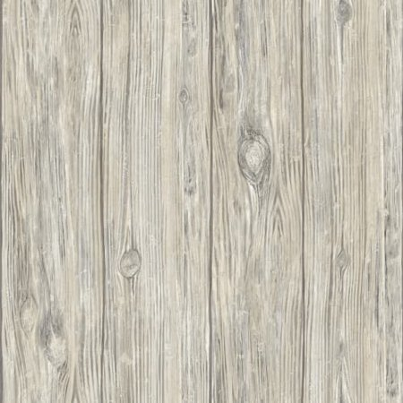 RoomMates Grey Mushroom Wood Peel & Stick Wallpaper for $<!---->