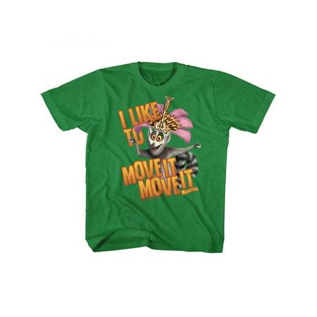 Madagascar Children's Movie Mov Ite Move It Kelly Heather Toddler Little Boys T-Shirt Tee - Top Ten Children's Halloween Movies