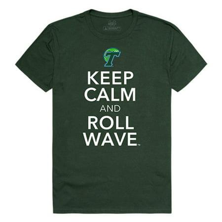 Tulane University Green Wave Keep Calm T-Shirt