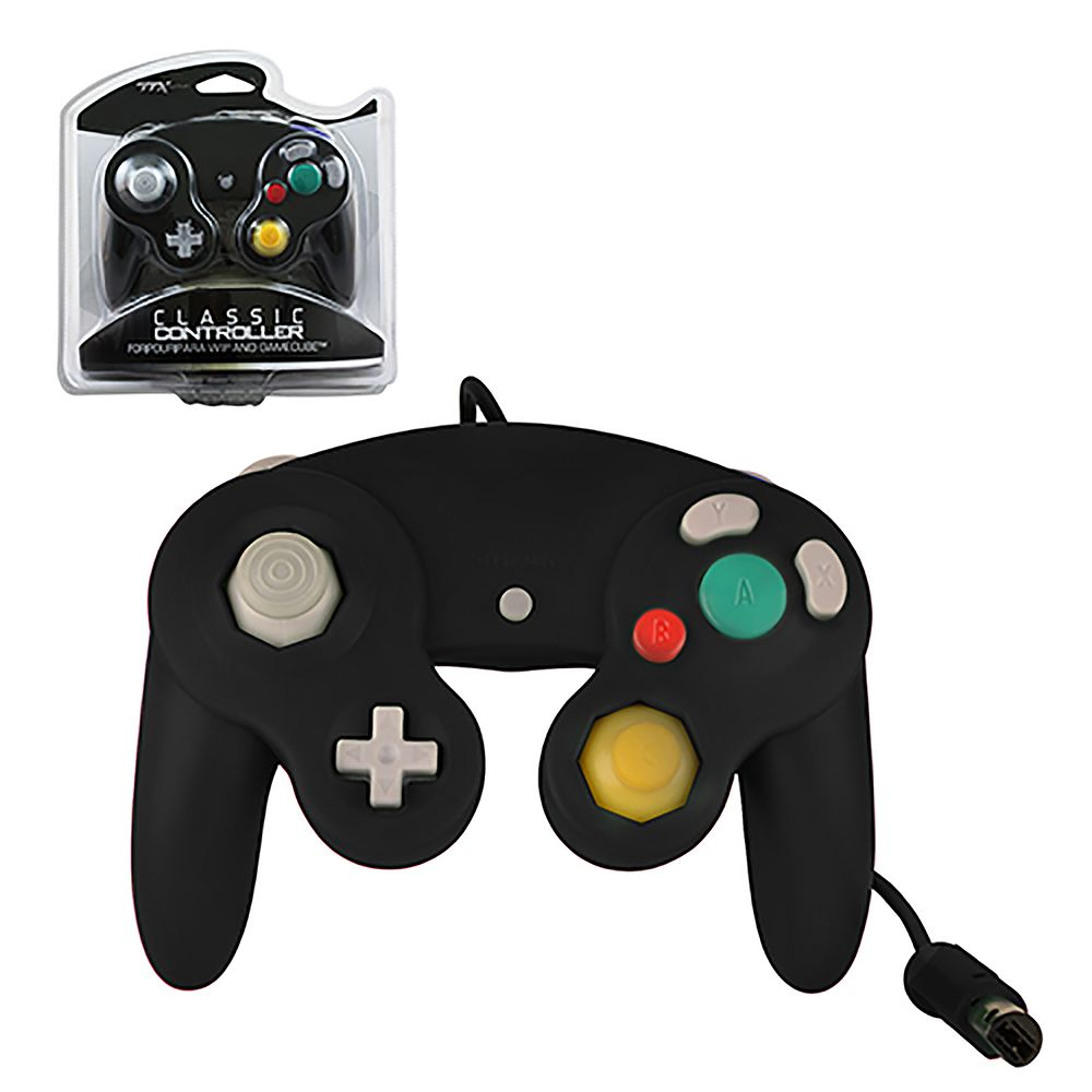 TTX Tech Wired Controller For Nintendo GameCube System black