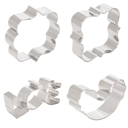 "Rainbow ""Love""Word Blessing-pose Shape Cookie Cutter Set -430 Grade Stainless Steel Metal Molds Best for Biscuit, Dough, Fondant,"