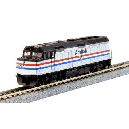 Kato 176-6107-DCC N Scale EMD F40PH Amtrak Phase III #381 w/DCC Installed (N Scale Amtrak)