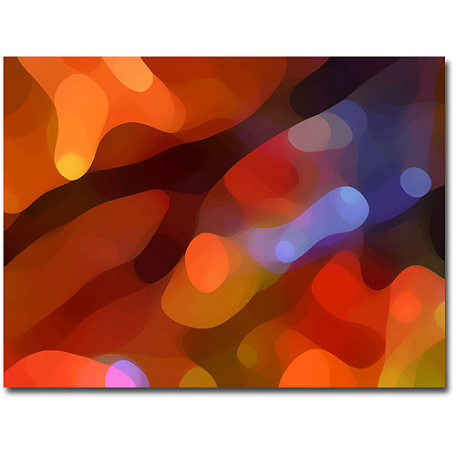 "Trademark Fine Art ""Fall Light"" Canvas Wall Art by Amy Vangsvard"