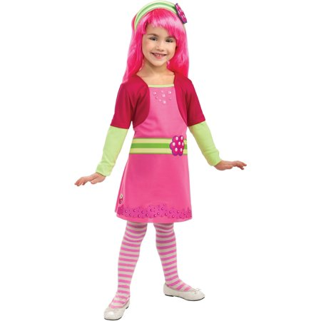 Girl's Strawberry Shortcake Raspberry Tart Costume - Strawberry Shortcake Onesie