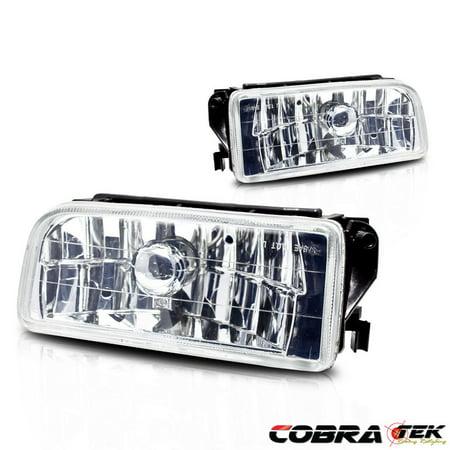 92-98 BMW E36/M3 OE/REPLACEMENT FOG LIGHT - CLEAR LENS (Bmw Fog Lights E36)