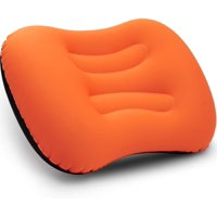 BETUS DREAMER COMFORT Ultralight Inflatable Air Pillow - Compressible, Compact, Comfortable, Ergonomic Pillow for Neck & Lumbar Support for Travel Trips, Backpacking and Camping (Orange)