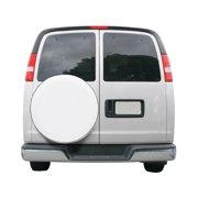 "Classic Accessories OverDrive Custom Fit Spare Tire RV Cover, Wheels 21"" - 22"" Diameter, Snow White"