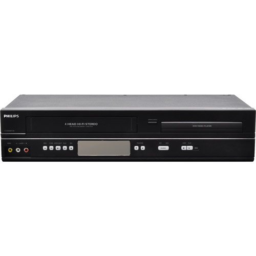 Philips DVP3345VB Combo VHS/DVD/CD Video Player Movie MP3...