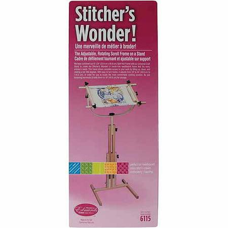 Stitcher's Wonder Floor Stand Scroll Frame (Hinterberg 29 Homestead Quilting Hoop With Floor Stand)