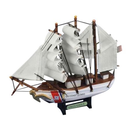 "Hampton Nautical USCG Eagle Tall Ship, 7"" - image 1 de 1"