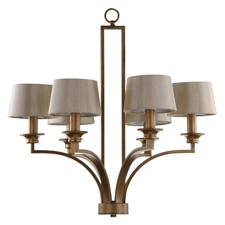 Safavieh Mindy Craftsman Pendant Light, Antique Gold