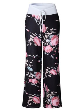 5955fea523a Product Image Women Harem Long Pants Wide Leg Yoga Dance Casual Palazzo Trousers  Plus Size