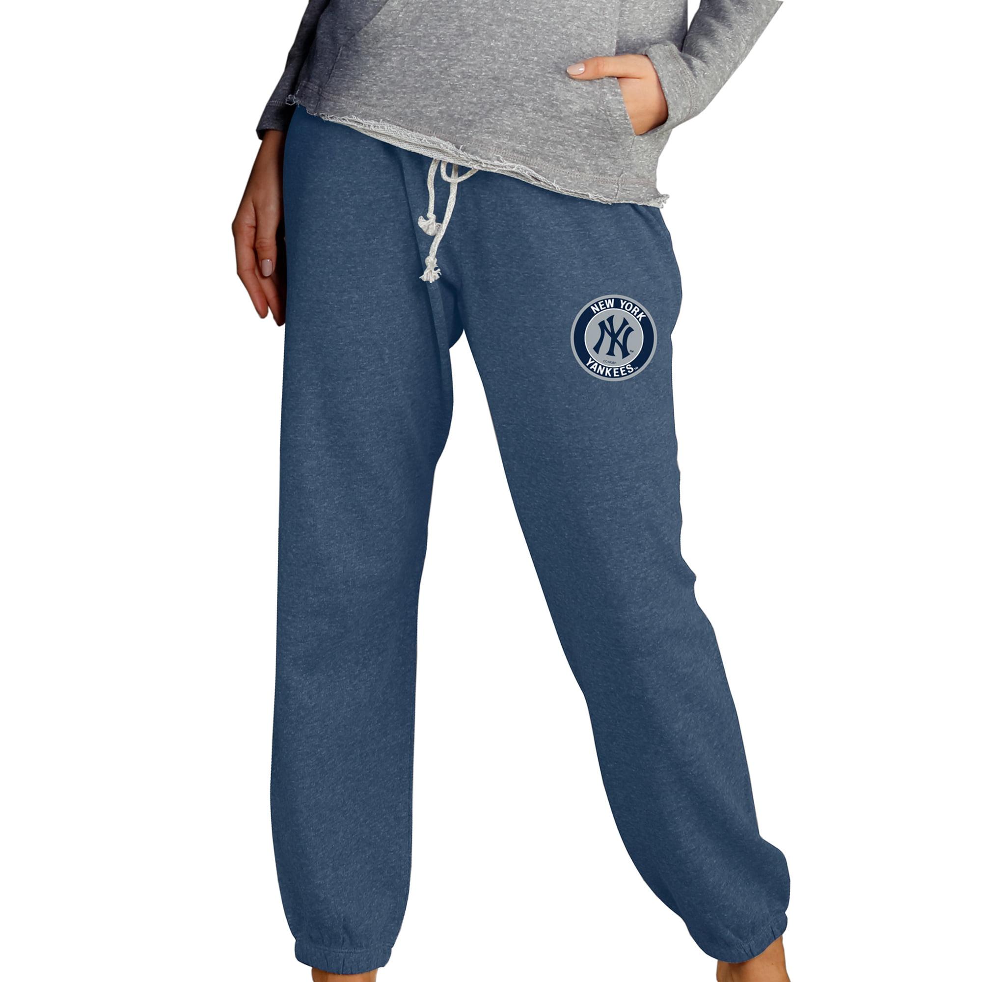 New York Yankees Concepts Sport Women's Mainstream Knit Pants - Navy