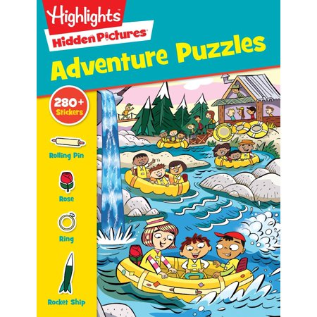 Adventure Puzzles (Cheap Children Books)