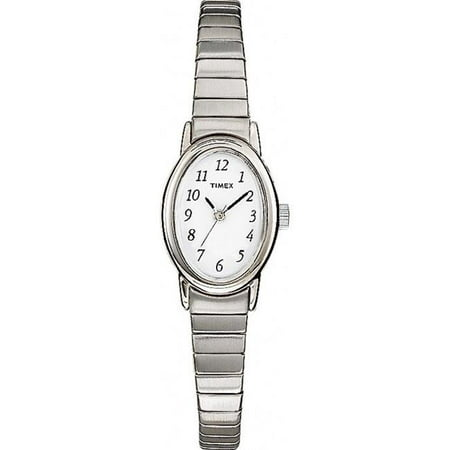 Women's T21902 Cavatina Watch, Silver-Tone Stainless Steel Expansion Band