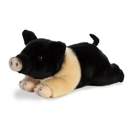 Aurora World Plush - Miyoni - HAMPSHIRE PIG (Medium - 12 inch) Pig 12 Plush