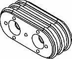 Automotive Connectors Seal Mp Gra Ind Band 2w Cbl 5 Pieces